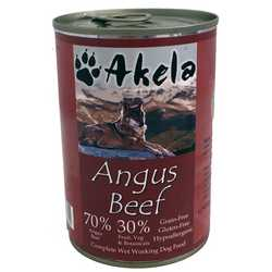 Akela Angus Beef - Wet Food - For Working Dogs