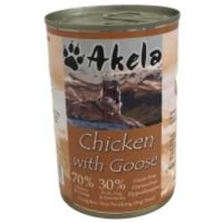 Akela Chicken With Goose - Wet Food - For Working Dogs