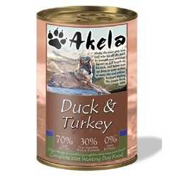Akela Duck & Turkey - Wet Food - For Working Dogs