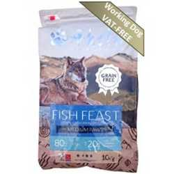 Akela Fish Feast - Medium Paws - For Working Dogs