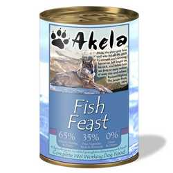 Akela Fish Feast - Wet Food - For Working Dogs