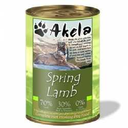 Akela Spring Lamb - Wet Food - For Working Dogs