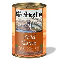Akela Wild Game - Wet Food - For Working Dogs