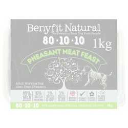 Benyfit Natural Pheasant Meat Feast - Raw Food - For Working Dogs - 1kg