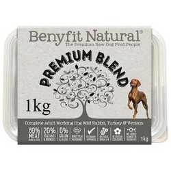Benyfit Natural Premium Blend - Raw Food - For Working Dogs - 1kg