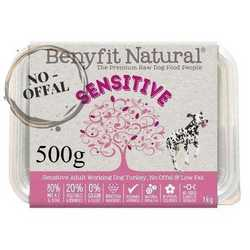 Benyfit Natural Sensitive - Raw Food - For Working Dogs - 500g