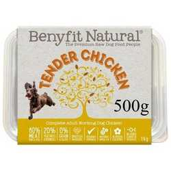 Benyfit Natural Tender Chicken - Raw food -  For Working Dogs - 500g