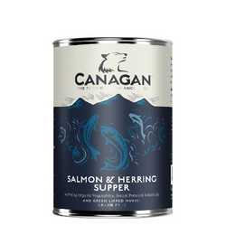 Canagan Salmon & Herring Supper - Wet Food - For Dogs - 400g