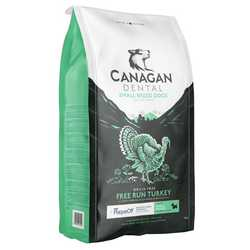Canagan Small Breed Free-Run Turkey Dental - Dry Food - For Dogs