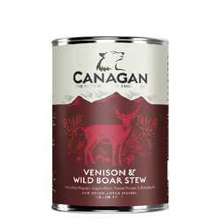 Canagan Venison & Wild Boar Stew - Wet Food - For Dogs - 400g