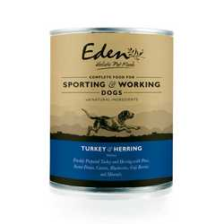 Eden Turkey and Herring - Wet Food - For Working Dogs
