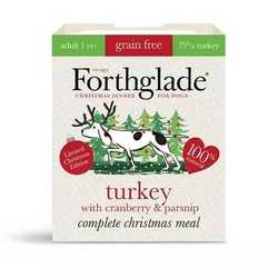 Forthglade - Christmas Complete Meal  -  Wet Food - For Dogs