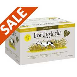 Forthglade Complete Grain Free Poultry Variety Pack - Wet Food - For Dogs