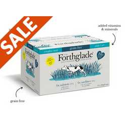 Forthglade Complete Salmon & Sardine Variety Pack - Wet Food - For Dogs