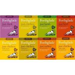 Forthglade Just Box Of 18 - Wet Food - For Dogs