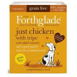 Forthglade Just Chicken with Tripe - Wet Food - For Dogs