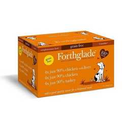 Forthglade Just Poultry Variety Pack - Wet Food - For Dogs