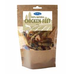 Hollings 100% Natural Chicken Feet - 100g