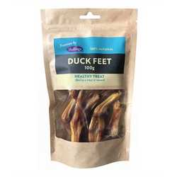 Hollings 100% Natural Duck Feet- 100g