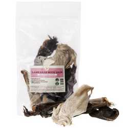 JR Pet Products - Lamb Ears with Hair - 100g