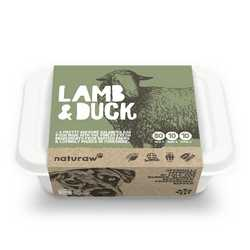 Naturaw Lamb & Duck - Raw Food - For Working Dogs - 500g