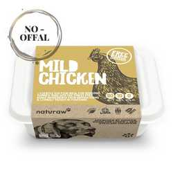Naturaw Mild Free Range Chicken - Raw Food - For Working Dogs - 500g