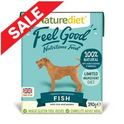 Naturediet Feel Good - Fish - 390g