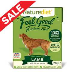 Naturediet Feel Good - Lamb 390g
