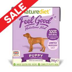 Naturediet Feel Good - Puppy -  390g