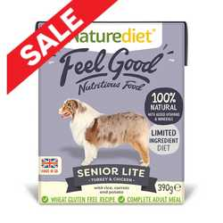 Naturediet Feel Good - Senior Lite - 390g