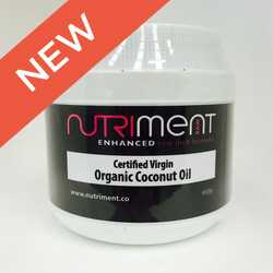 Nutriment Certified Virgin Organic Coconut Oil - For Cats & Dogs - 400g
