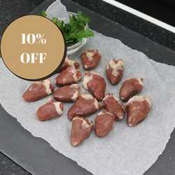 Nutriment Chicken Hearts - Raw - For Dogs & Cats -  200g