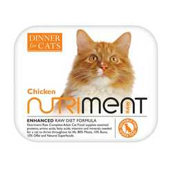 Nutriment Dinner For Cats - Chicken - Raw Food - 175g