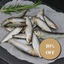 Nutriment Fresh Whole Sprats - Raw - For Cats & Dogs - 1kg