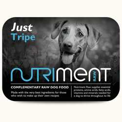 Nutriment Just Tripe - Raw Food - 500g