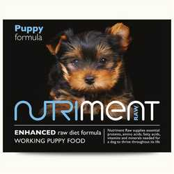Nutriment Puppy formula - Raw Food - For Working Puppies - 500g