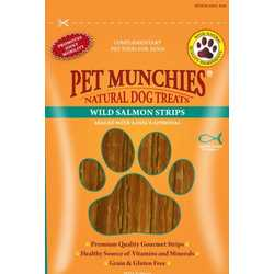 Pet Munchies Wild Salmon Strips