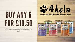 Akela dog tin multi buy discount