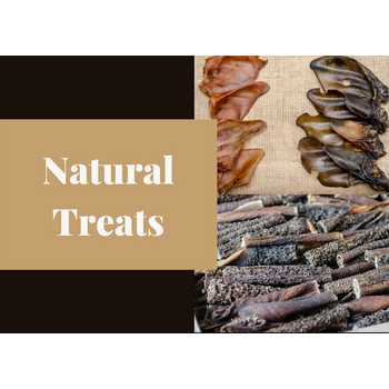 Natural Treats & Chews