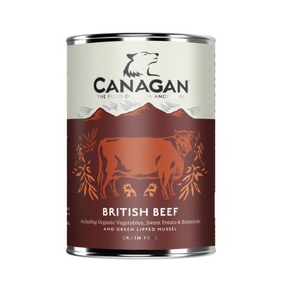 Canagan British Beef For Adult Dogs