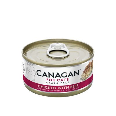 Canagan Chicken With Beef - Cat Can