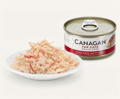 Canagan Chicken With Beef - Cat Can 75g