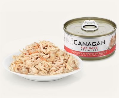 Canagan Chicken With Prawns - Cat Can 75g