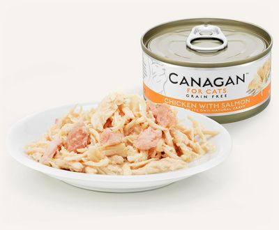 Canagan Chicken With Salmon - Cat Can 75g