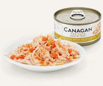 Canagan Chicken With Vegetables - Cat Can 75g