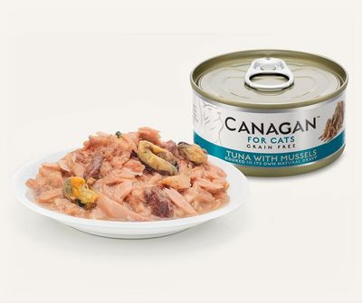 Canagan Tuna With Mussels - Cat Can 75g
