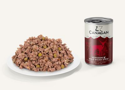 Canagan Venison & Wild Boar Stew For Dogs 400g