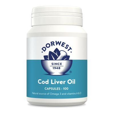 Dorwest Cod Liver Oil Capsules - For Dogs & Cats