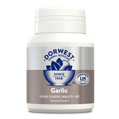 Dorwest Garlic Tablets - For Dogs & Cats