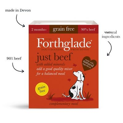 Forthglade Just Beef - Wet Food - For Dogs